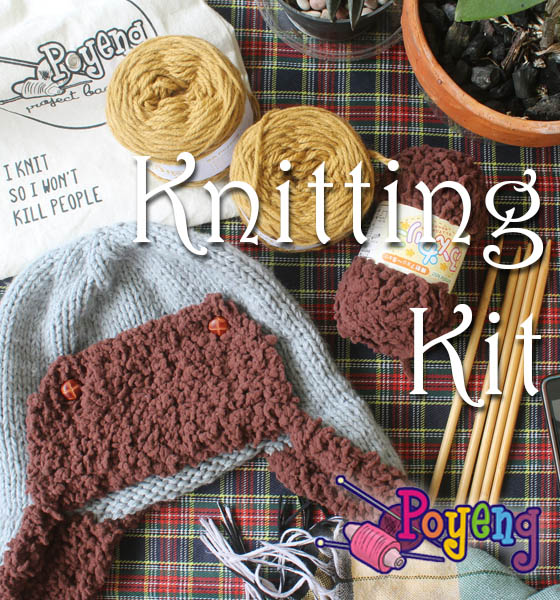 Poyeng Knitting Kit